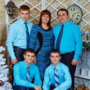 Бак В.П. и семья