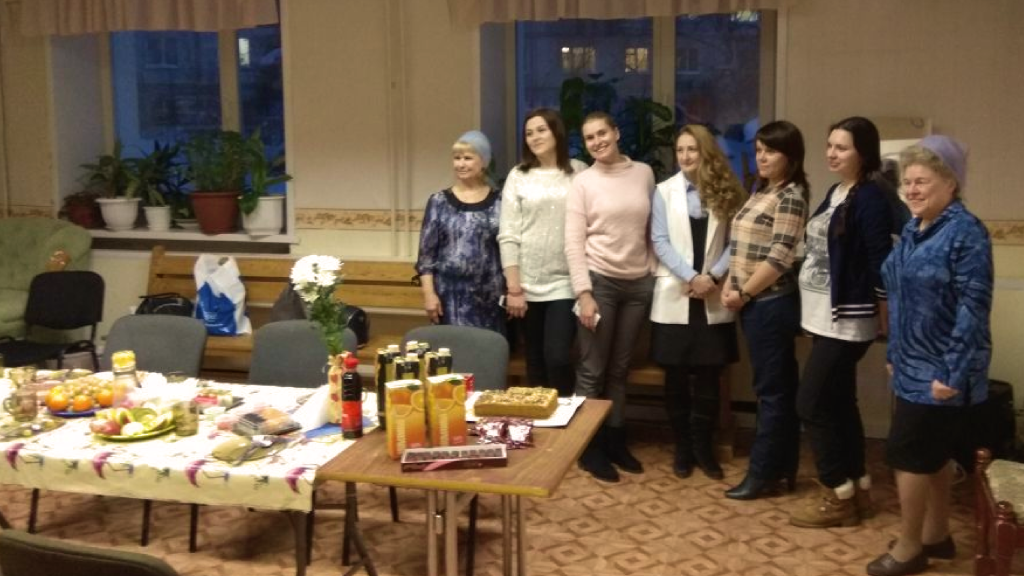Встреча жен студентов