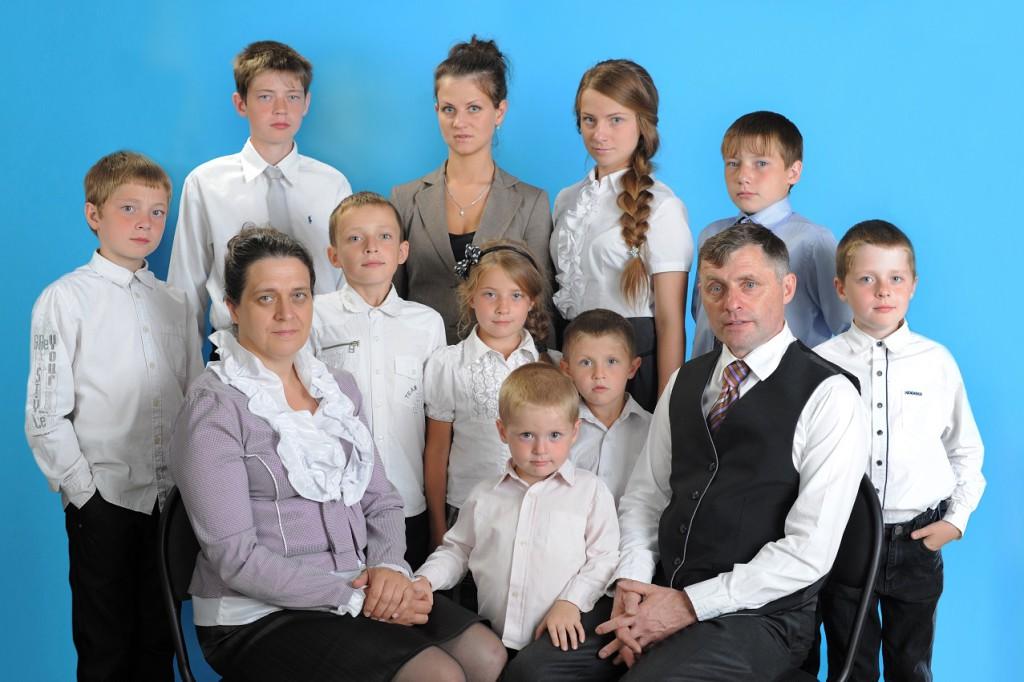 Семья Жучковых